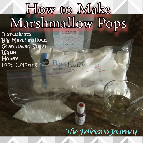 marshmallow pops ingredients