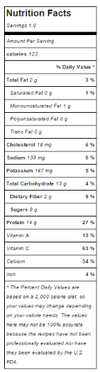 nutrition smoothie bb