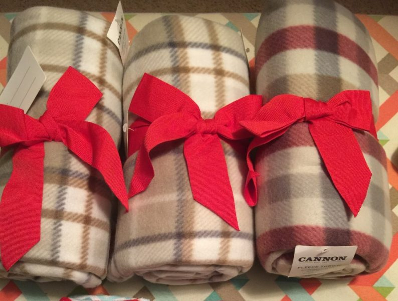 Kmart Cannon Fleece Throw on special for $2.99