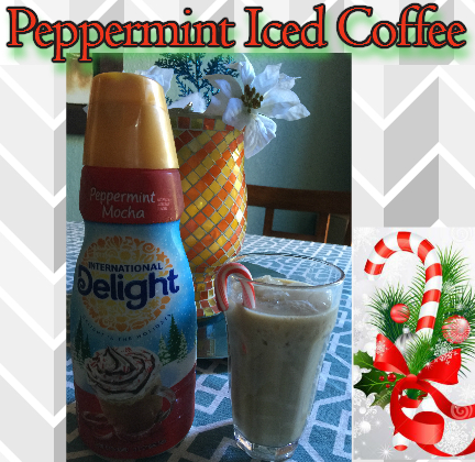 peppermint iced coffee