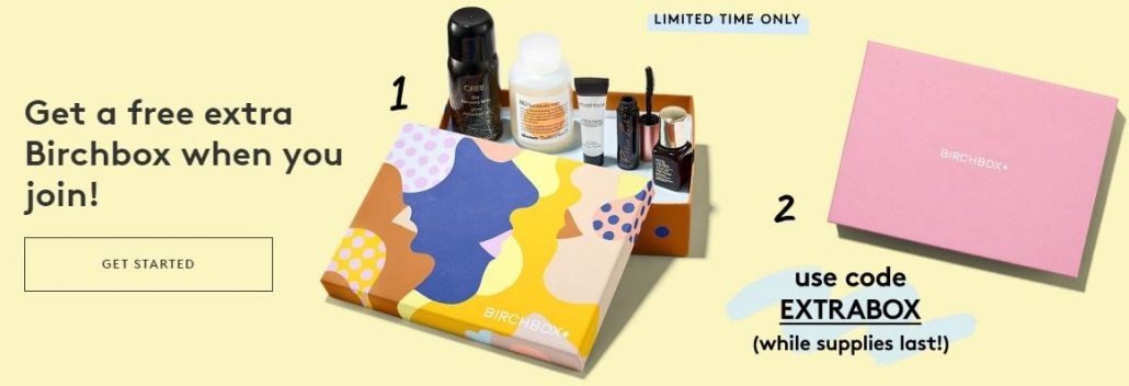 Birchbox Beauty Box June deal (get an extra box)