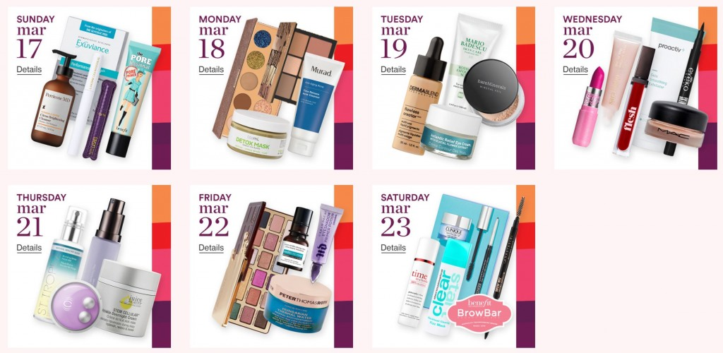 Ulta 21 Days of Beauty Event 2019 (Week 1) 3/17 – 3/23/19 (My recommendations)