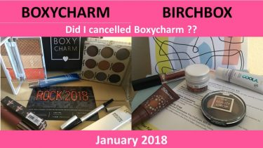 Birchbox & Boxycharm: January 2018 Item I received