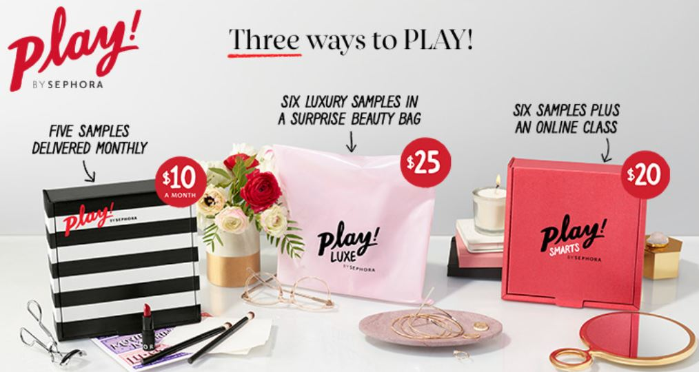 New – Play by Sephora Luxe Box – $25