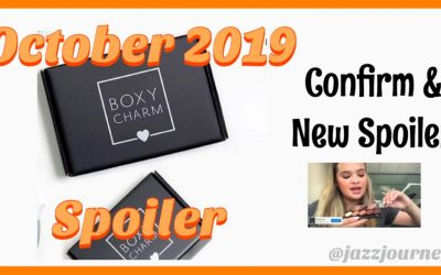 Boxycharm October 2019 – 3 Confirmed Items (new spoiler)