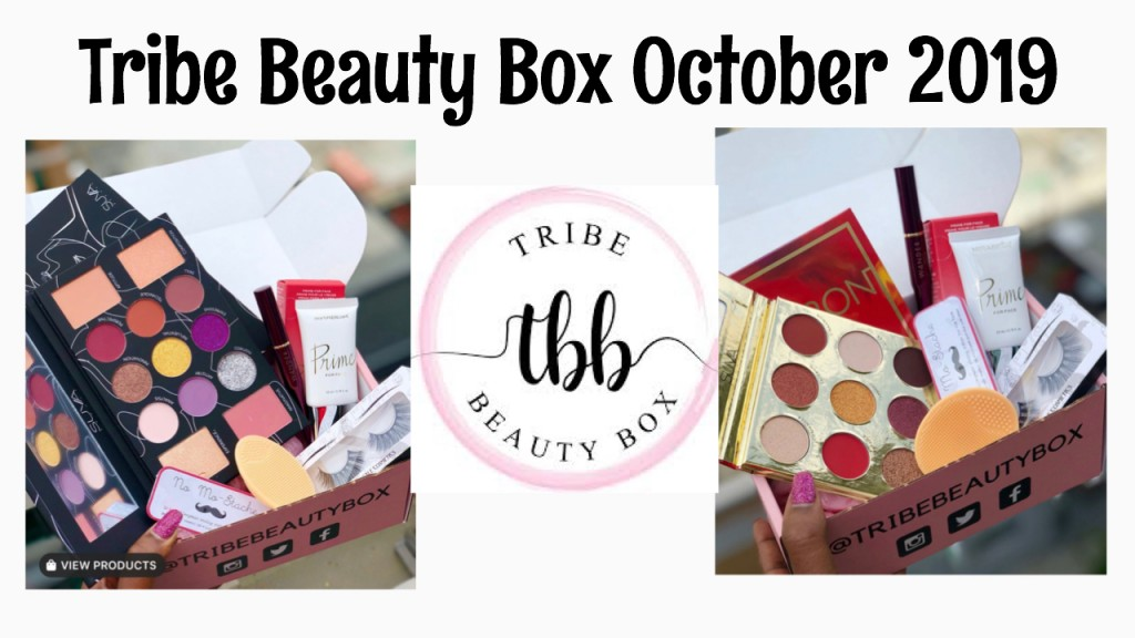 Tribe Beauty Box October 2019 (Full Spoiler 2 Variation Boxes)