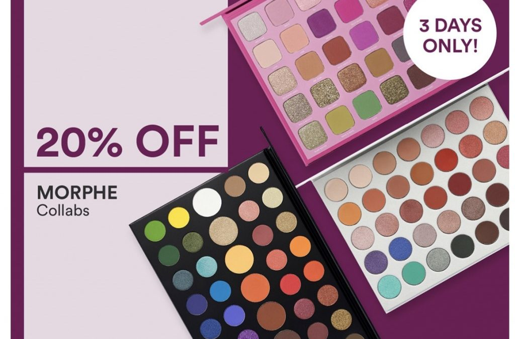 Ulta Morphe Collabs as low as $4.00 (3 days only)