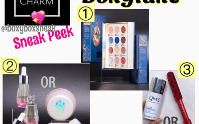 Boxyluxe December 2019 Sneak Peek #1 – #3