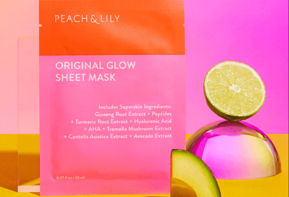 Peach & Lily Glow Sheet Mask Free