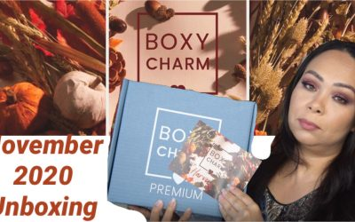 Boxycharm Premium November 2020 Unboxing