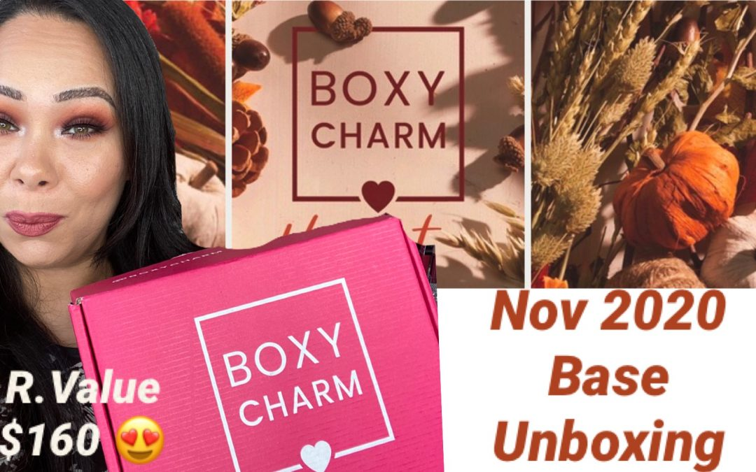 Boxycharm Base November 2020 Unboxing – Value $160