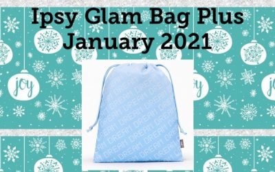 Ipsy Glam Bag Plus January 2021 Spoilers (Farsali, Kate Somerville and more)
