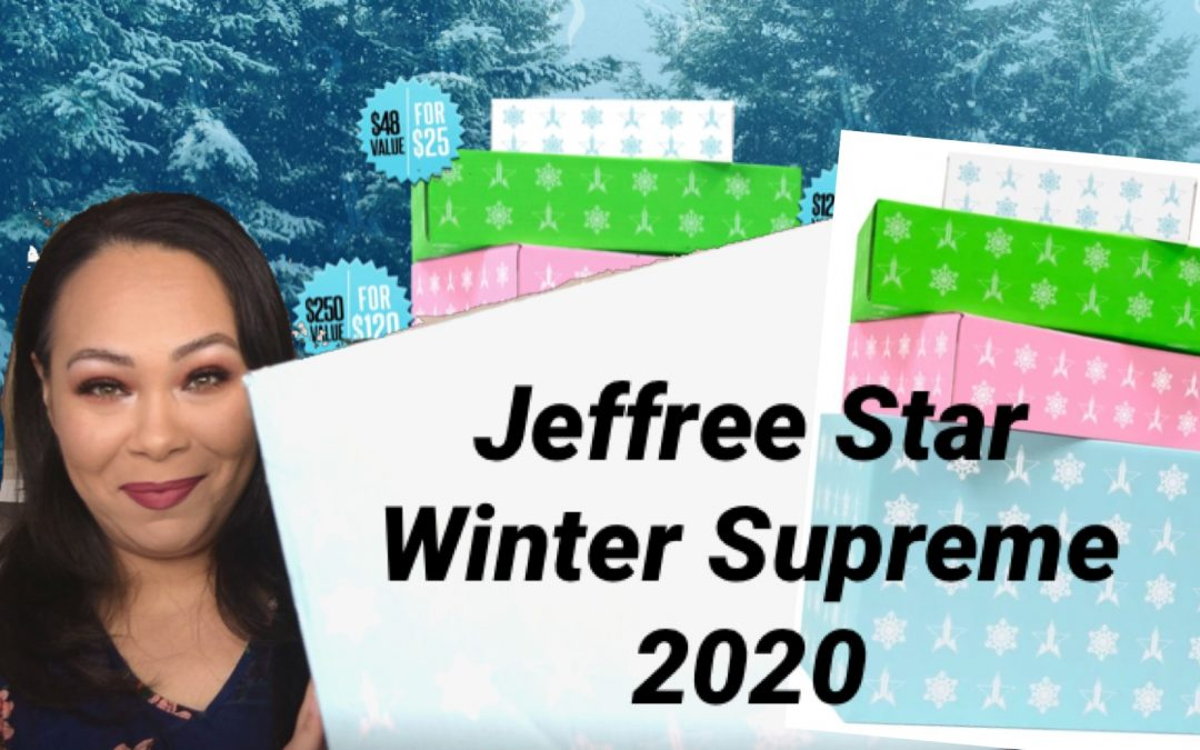 Jeffree Star Winter Mystery Box 2020 Unboxing Supreme (video included)