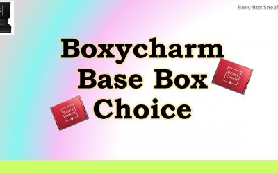 Boxycharm Base January 2021 (1st Choice Item)