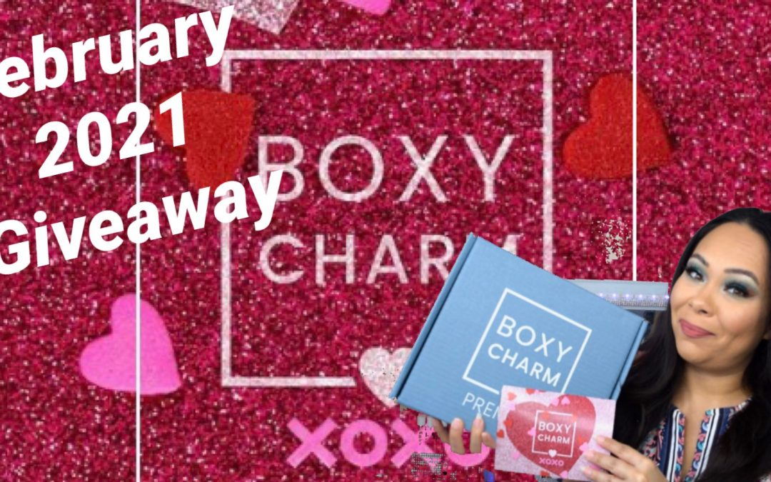February 2021 Makeup Giveaway Ends 2/26/21