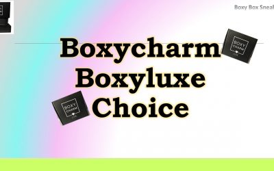 Boxyluxe March 2021 Choice (opens 2/8/21)