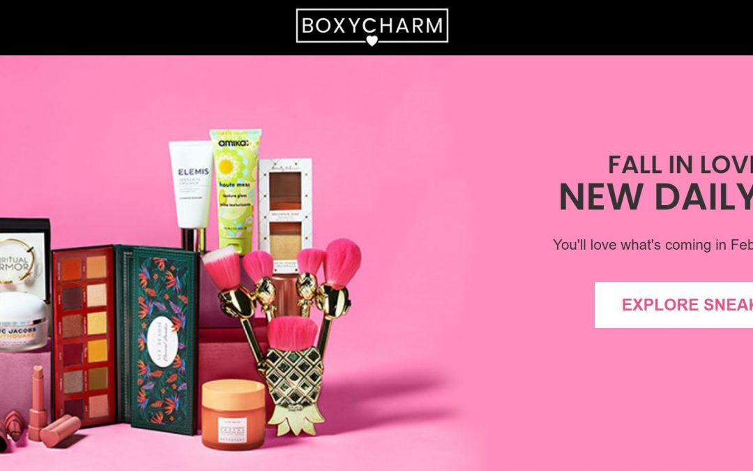 Boxycharm POPUP Deals (opens today 2/8/21) @12pm ET