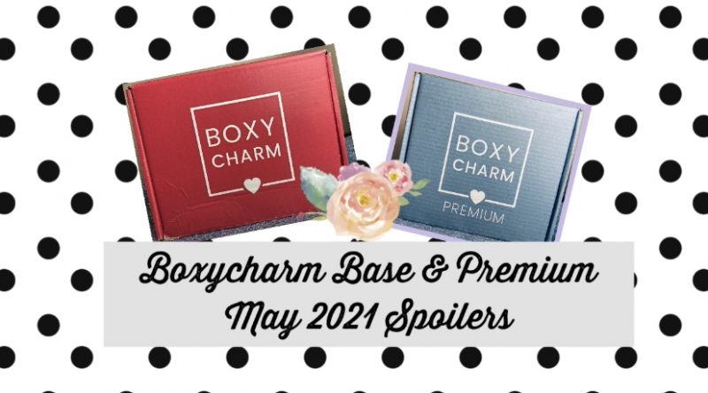 Boxycharm Base & Premium May 2021 Brand Revealed